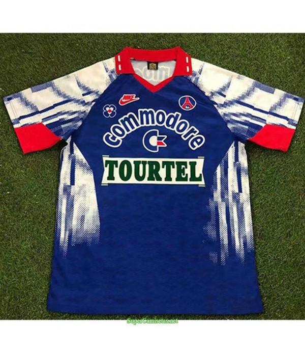 Tailandia Primera Equipacion Camiseta Psg Hombre 1992 93
