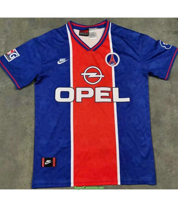 Tailandia Primera Equipacion Camiseta Psg Hombre 1995 96