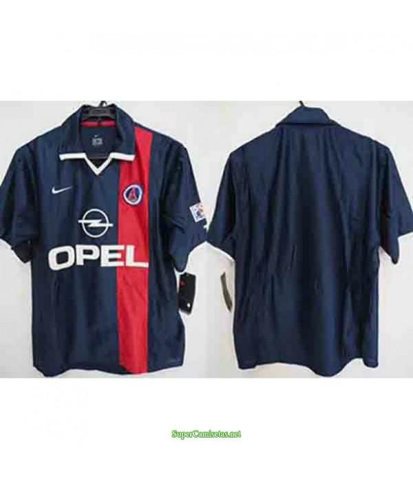 Tailandia Primera Equipacion Camiseta Psg Hombre 2001
