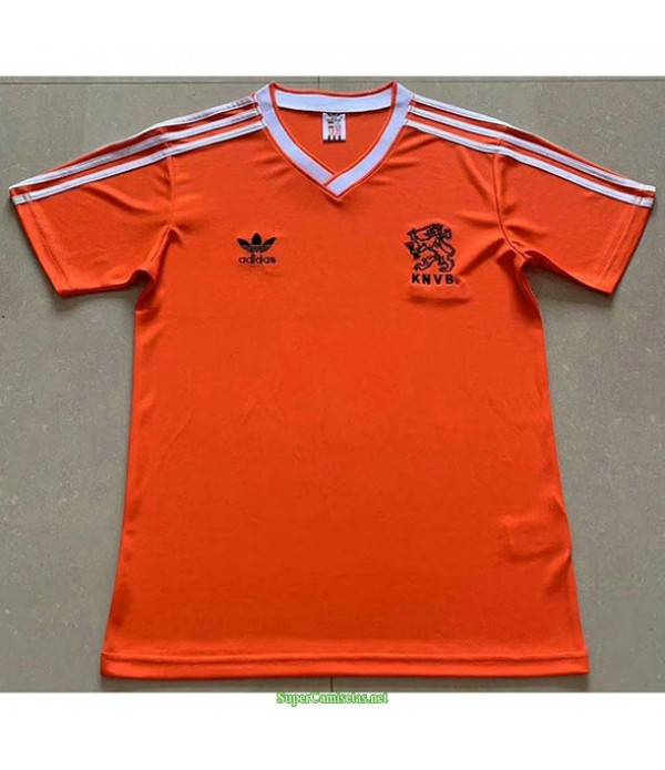 Tailandia Primera Equipacion Camiseta Países Bajos Hombre 1986