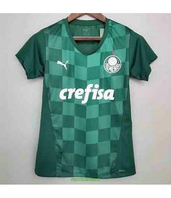 Tailandia Primera Equipacion Camiseta Palmeiras Mujer S 2021