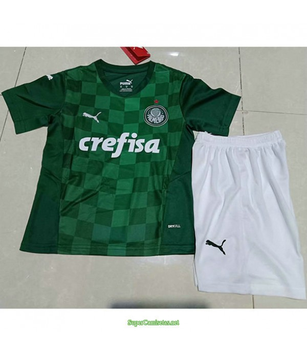 Tailandia Primera Equipacion Camiseta Palmeiras Ninos 2021