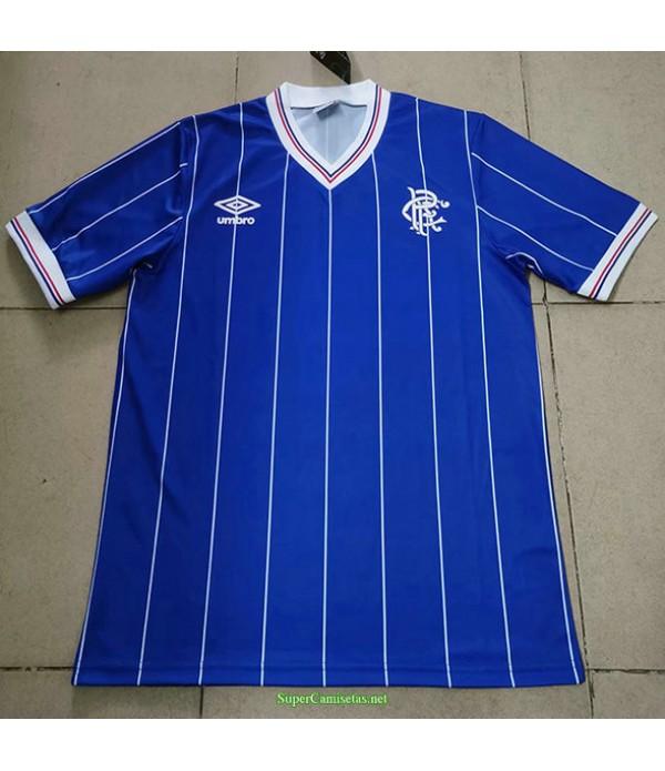Tailandia Primera Equipacion Camiseta Rangers Hombre 1982 83