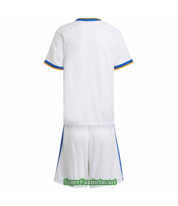 Tailandia Primera Equipacion Camiseta Real Madrid Ninos 2021