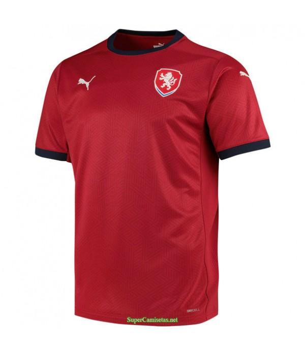 Tailandia Primera Equipacion Camiseta República Checa Uefa Euro 2020