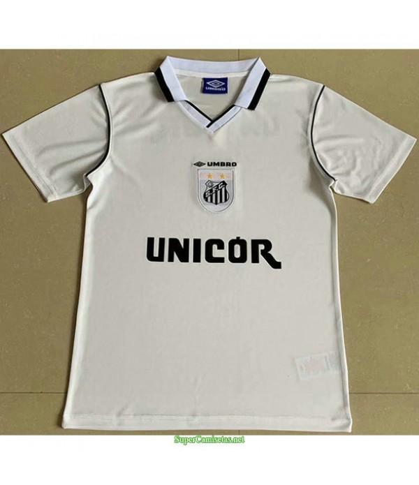 Tailandia Primera Equipacion Camiseta Santos Hombre 1999