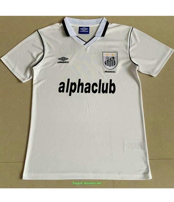 Tailandia Primera Equipacion Camiseta Santos Hombre 2001