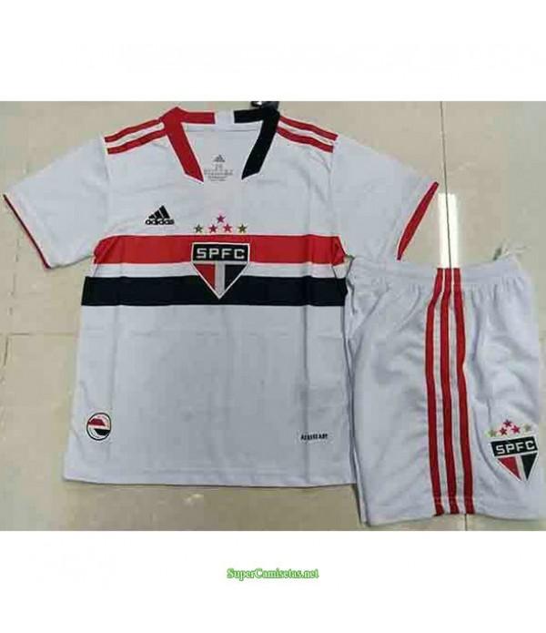 Tailandia Primera Equipacion Camiseta Sao Paulo Ninos 2021