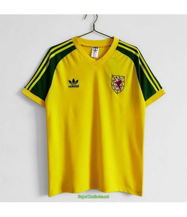 Tailandia Primera Equipacion Camiseta Wales Hombre 1982