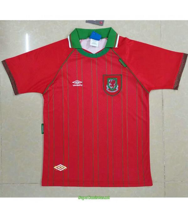 Tailandia Primera Equipacion Camiseta Wales Hombre 1994 96