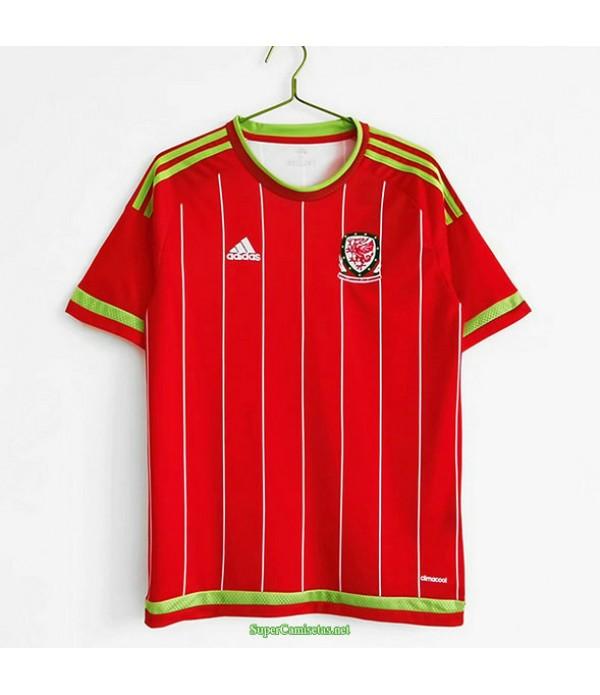 Tailandia Primera Equipacion Camiseta Wales Hombre 2015