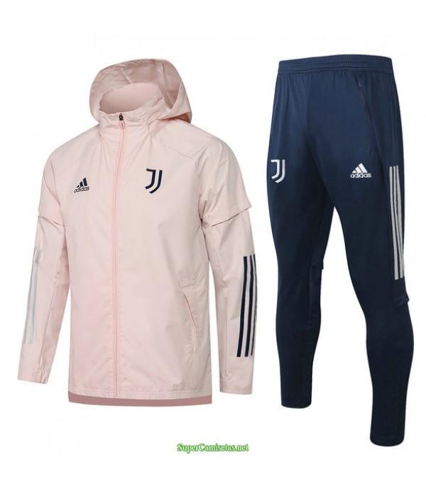 Tailandia Rompevientos Juventus Rosa 2021