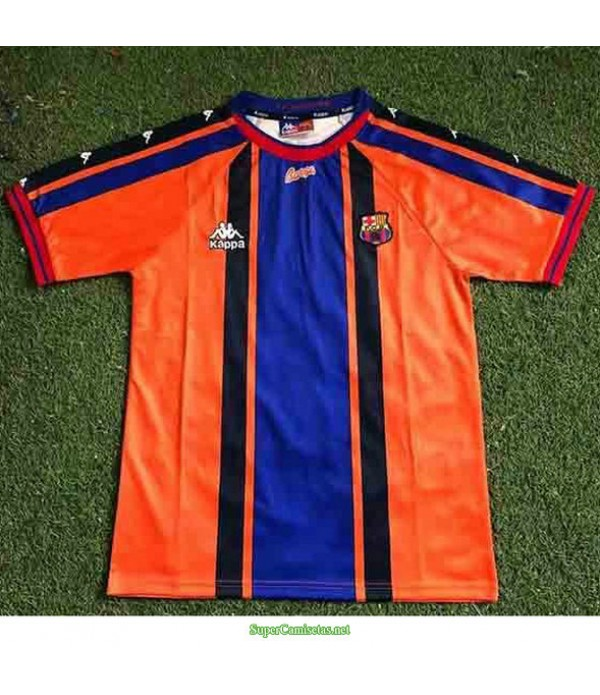 Tailandia Segunda Equipacion Camiseta Barcelona Hombre 1997 98