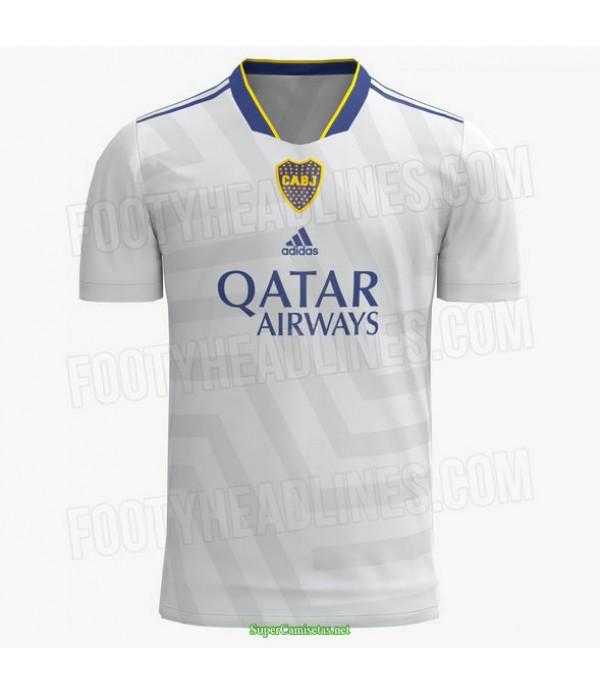 Tailandia Segunda Equipacion Camiseta Boca Juniors Blanco 2021