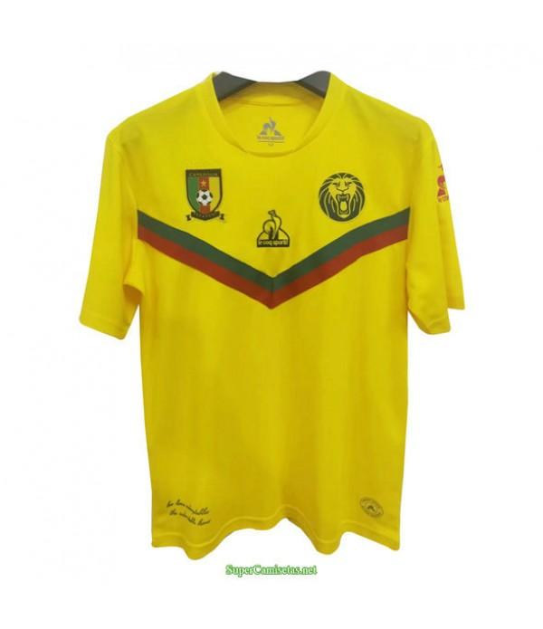 Tailandia Segunda Equipacion Camiseta Camerun Amarillo 2021
