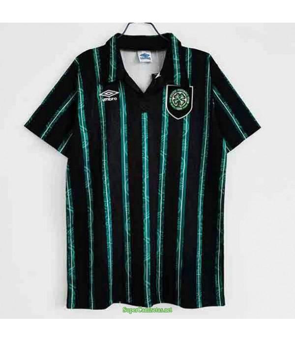 Tailandia Segunda Equipacion Camiseta Celtics Hombre 1992 93