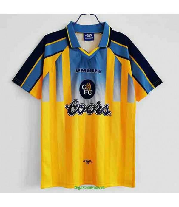 Tailandia Segunda Equipacion Camiseta Chelsea Hombre 1995 97