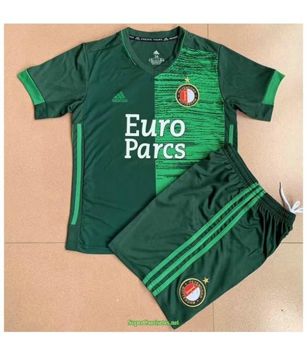 Tailandia Segunda Equipacion Camiseta Feyenoord Ninos 2021