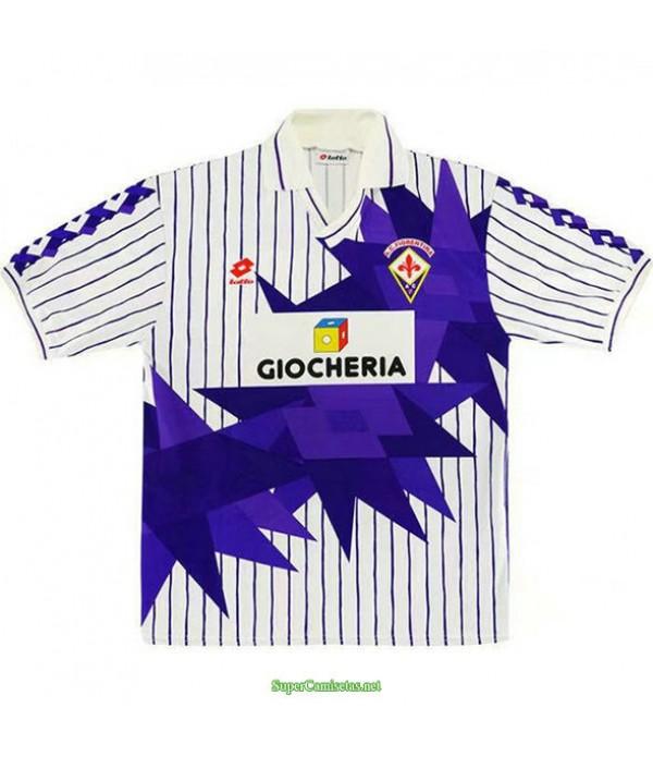 Tailandia Segunda Equipacion Camiseta Fiorentina Hombre 1991 92
