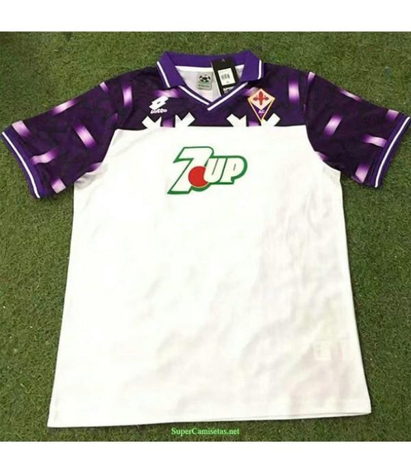 Tailandia Segunda Equipacion Camiseta Fiorentina Hombre 1992 93