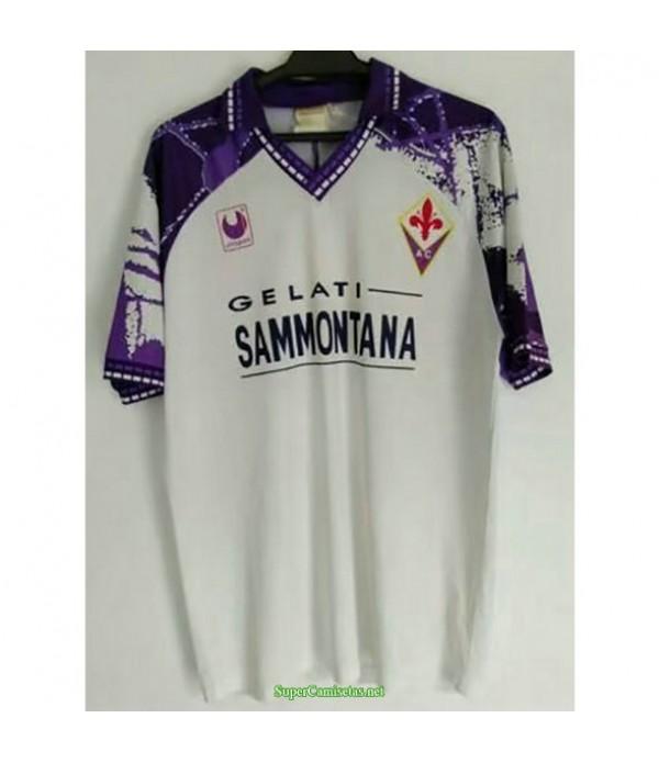 Tailandia Segunda Equipacion Camiseta Fiorentina Hombre 1994 95