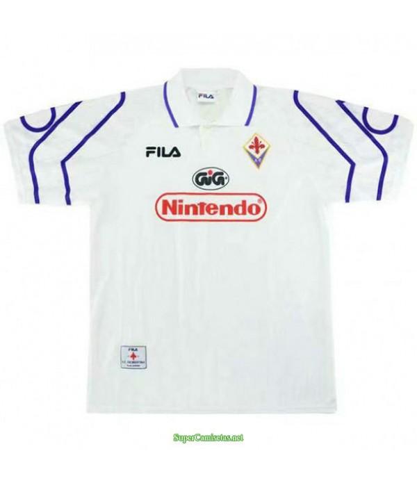 Tailandia Segunda Equipacion Camiseta Fiorentina Hombre 1997 98