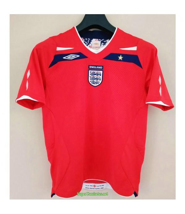 Tailandia Segunda Equipacion Camiseta Inglaterra Hombre 2008 2010
