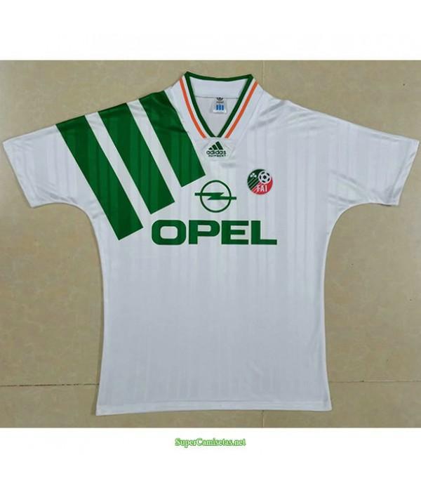Tailandia Segunda Equipacion Camiseta Irlanda Hombre 1992 94