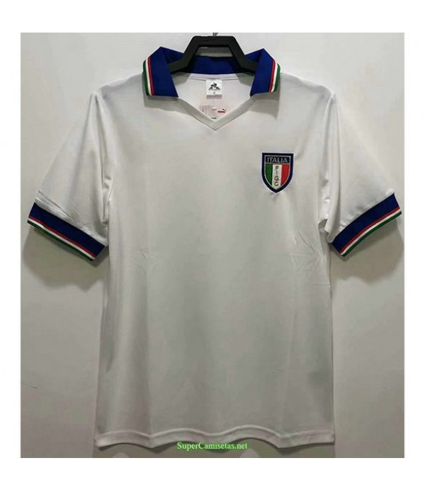 Tailandia Segunda Equipacion Camiseta Italia Hombre 1982