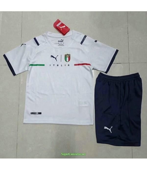 Tailandia Segunda Equipacion Camiseta Italia Ninos 2021
