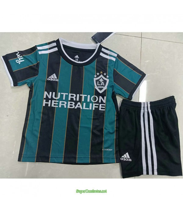 Tailandia Segunda Equipacion Camiseta Los Angeles Galaxy Ninos 2021
