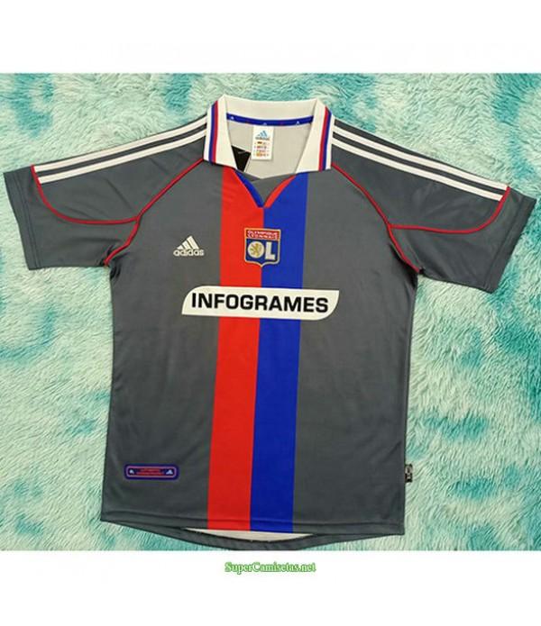Tailandia Segunda Equipacion Camiseta Lyon Hombre 2000 01