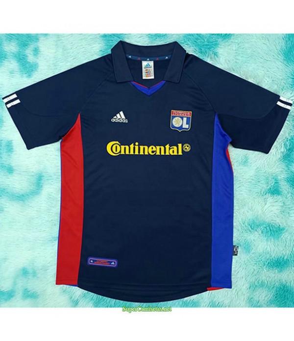 Tailandia Segunda Equipacion Camiseta Lyon Hombre 2001 02