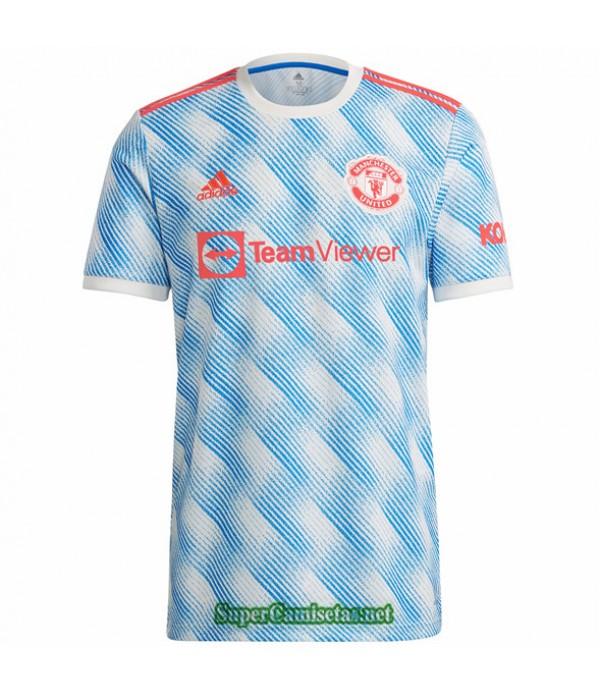 Tailandia Segunda Equipacion Camiseta Manchester United 2021