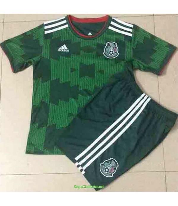 Tailandia Segunda Equipacion Camiseta México Ninos 2021