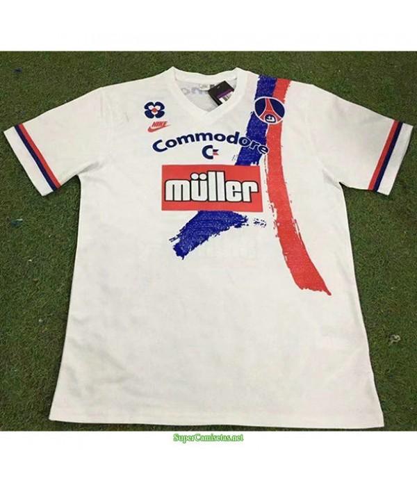 Tailandia Segunda Equipacion Camiseta Psg Hombre 1991 92