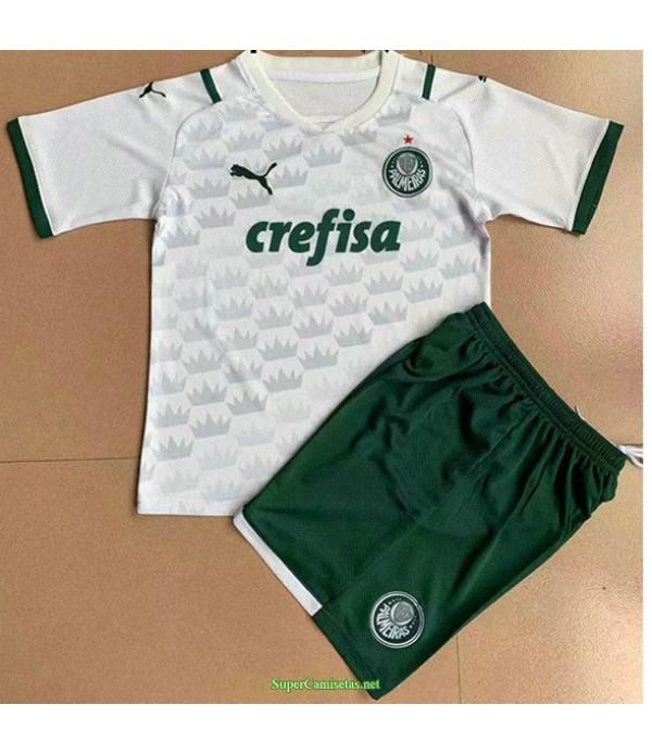 Tailandia Segunda Equipacion Camiseta Palmeiras Ninos 2021