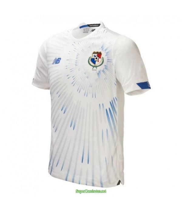 Tailandia Segunda Equipacion Camiseta Panama Blanco 2021