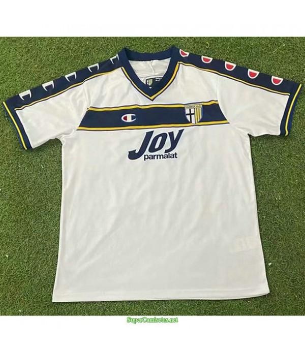Tailandia Segunda Equipacion Camiseta Parma Calcio Hombre 2001 02