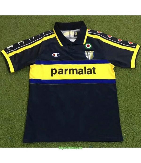 Tailandia Segunda Equipacion Camiseta Parma Hombre 1999 00