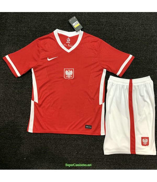 Tailandia Segunda Equipacion Camiseta Polonia Ninos 2020
