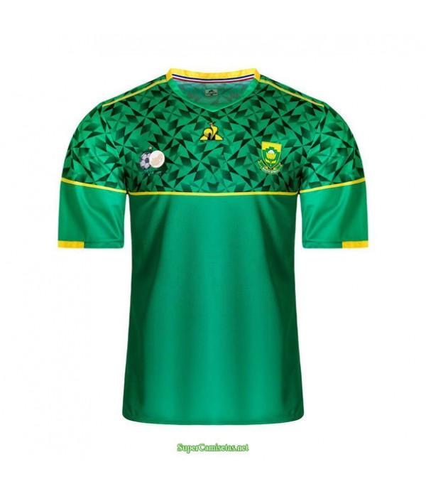 Tailandia Segunda Equipacion Camiseta Sudáfrica Verde 2020