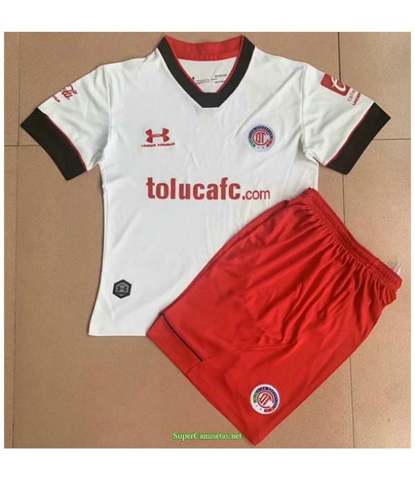Tailandia Segunda Equipacion Camiseta Toluca Ninos 2021
