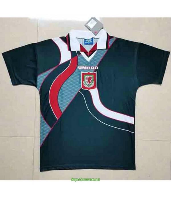 Tailandia Segunda Equipacion Camiseta Wales Hombre 1994 95