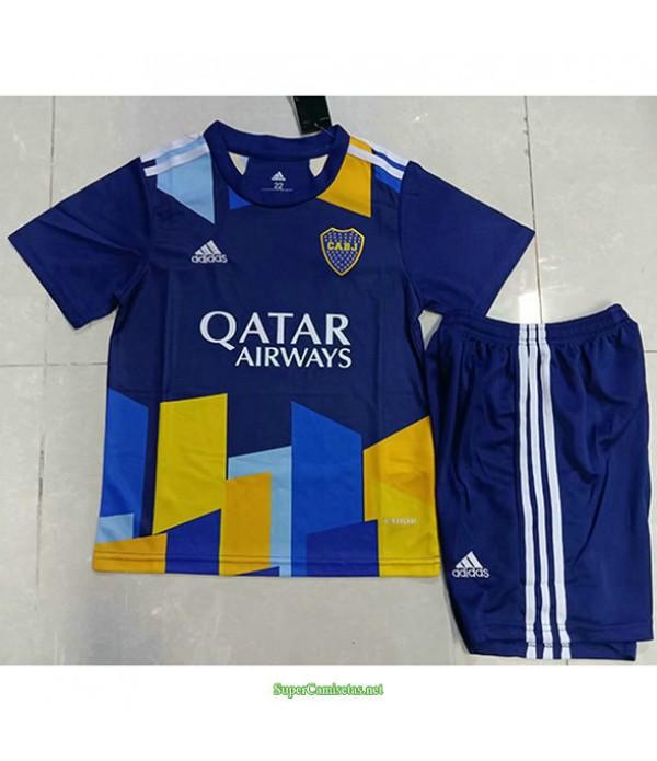 Tailandia Tercera Equipacion Camiseta Boca Juniors Ninos 2021