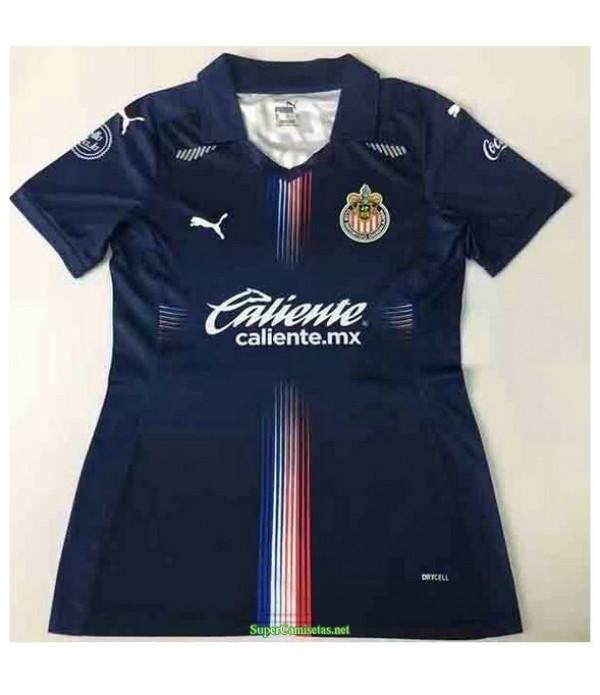 Tailandia Tercera Equipacion Camiseta Chivas Regal Mujer 2021