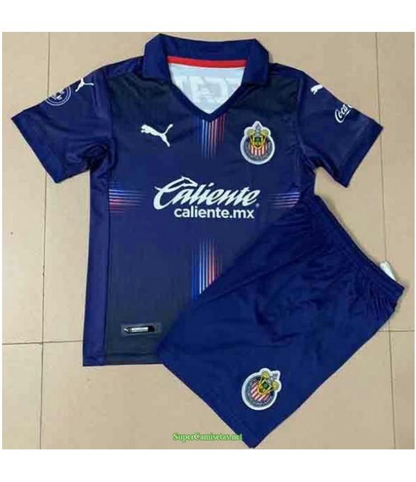 Tailandia Tercera Equipacion Camiseta Chivas Regal Ninos 2021