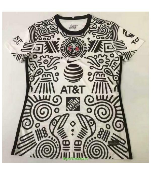 Tailandia Tercera Equipacion Camiseta Club America Mujer 2021
