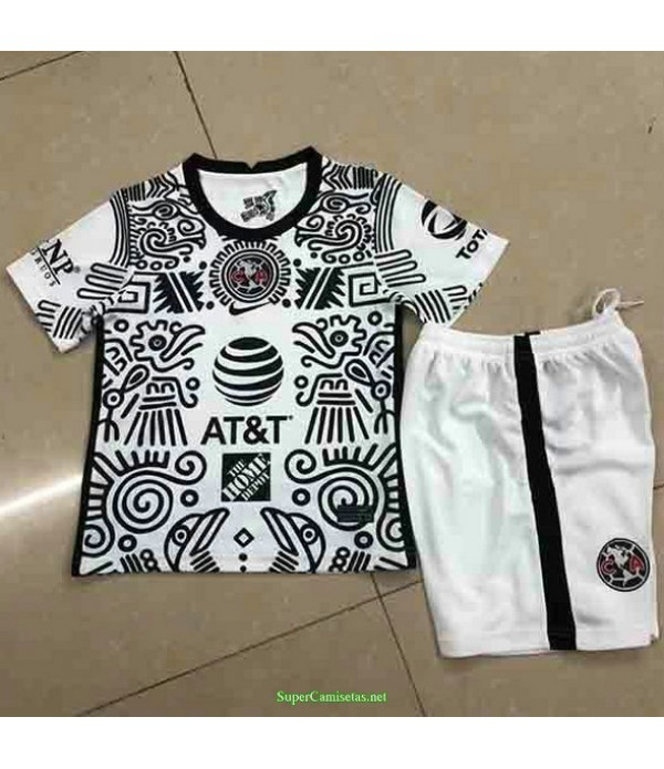 Tailandia Tercera Equipacion Camiseta Club America Ninos 2021