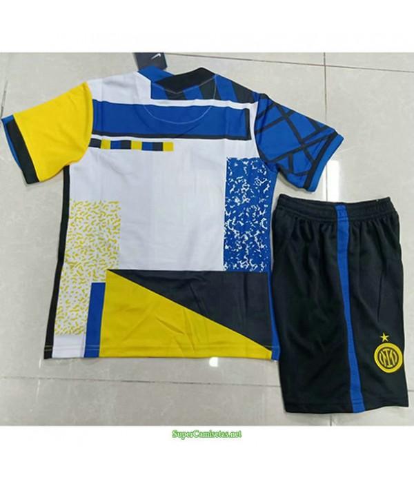 Tailandia Tercera Equipacion Camiseta Inter Milan Ninos 2021